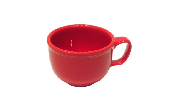Fiestaware 18 oz Jumbo Coffee Mug in Scarlet Red